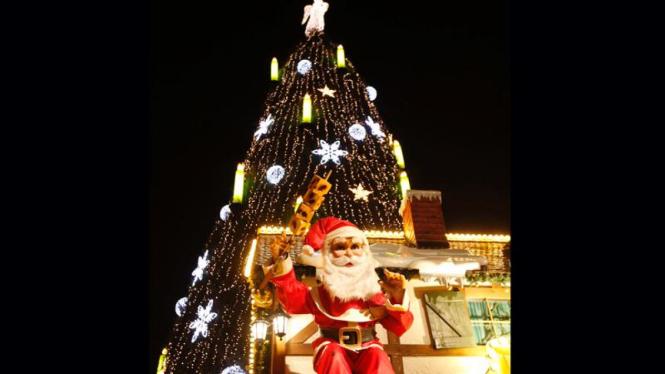 Pembukaan pasar natal di Jerman