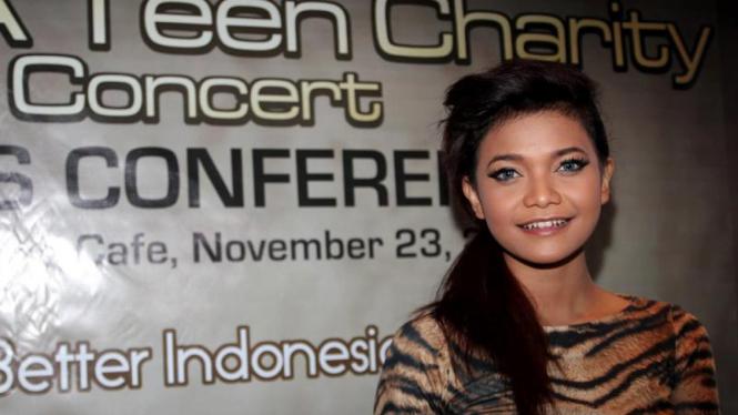 "Citra 'Idol' di Jumpa Pers ""Save a Teen Concert"""