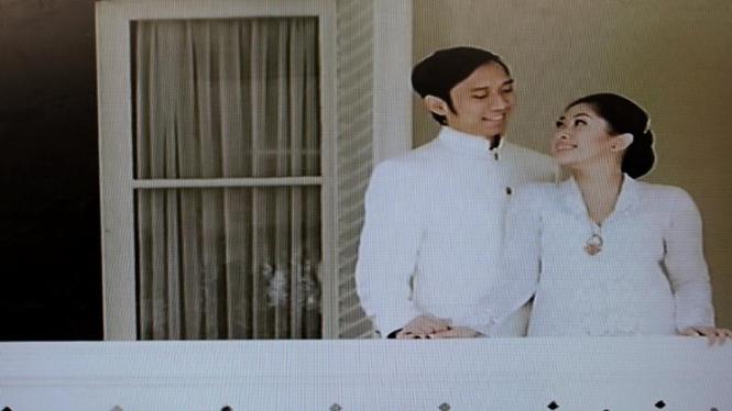Foto Pre-Wedding Ibas-Aliya Yang Ditampilkan di Istana Cipanas
