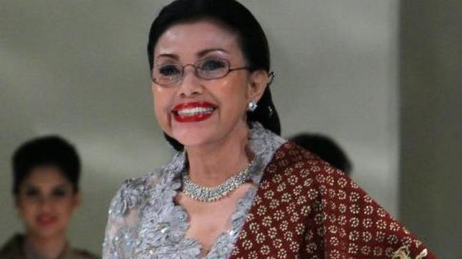 Rachmini Rachman atau Mien Uno, ibunda Sandiaga Uno.