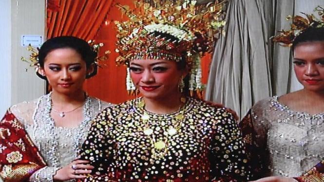 Akad Nikah Pernikahan Ibas-Aliya di Istana Cipanas