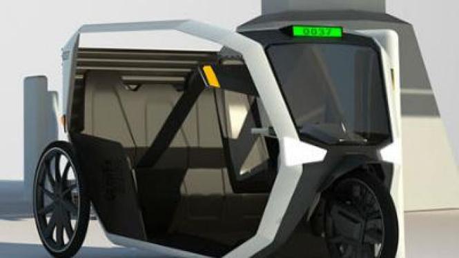 Taksi ramah lingkungan
