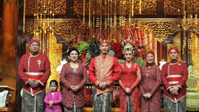 Resepsi Pernikahan Ibas Aliya di JCC