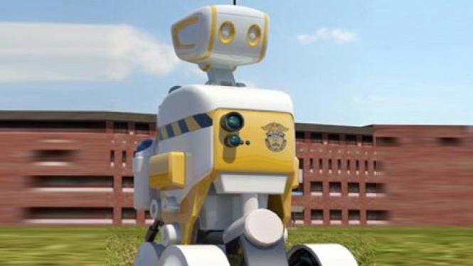 Robot Sipir di Korsel