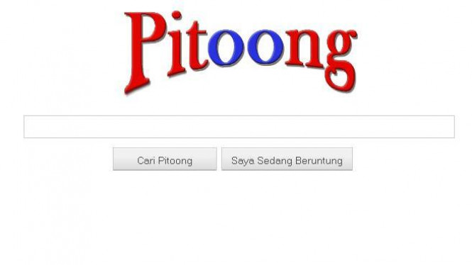Pitoong Search Engine