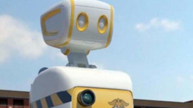 Robot penjaga penjara di Korea Selatan