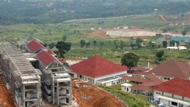 Pusat Pasukan Perdamaian TNI Polri di Bukit Merah Putih, Sentul, Bogor