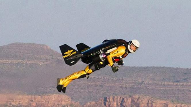 Yves Rossy, Manusia Jet dari Swiss