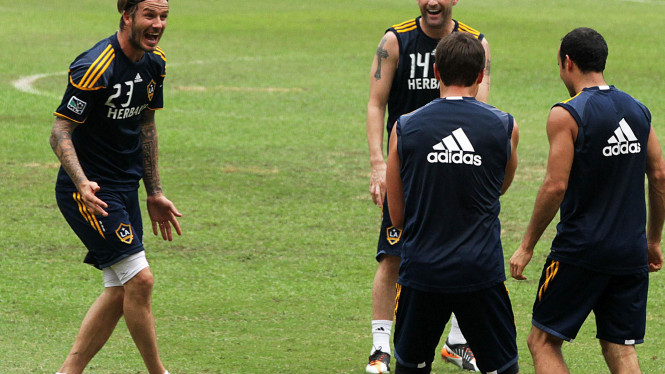 Latihan L.A GALAXY