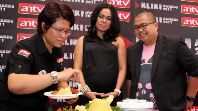 Jumpa Pers Klik! Awards ANTV 2011