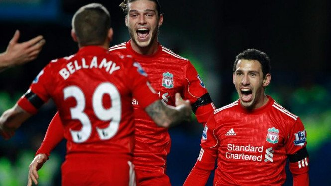 Perempat final Piala Carling Chelsea Vs Liverpool