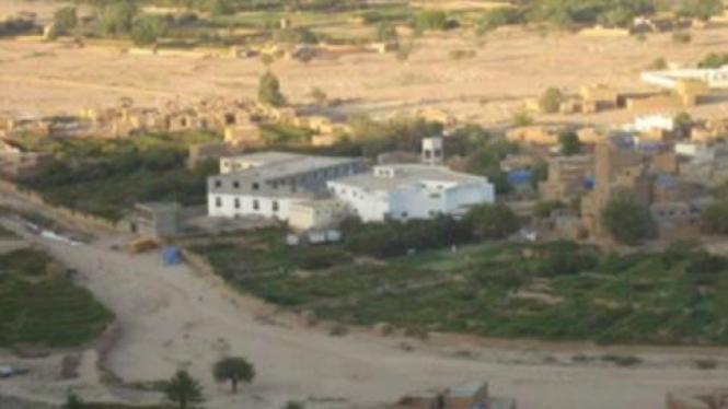 Pesanten Darrul Hadist di desa Dammaj, provinsi Sa'dah, Yaman.