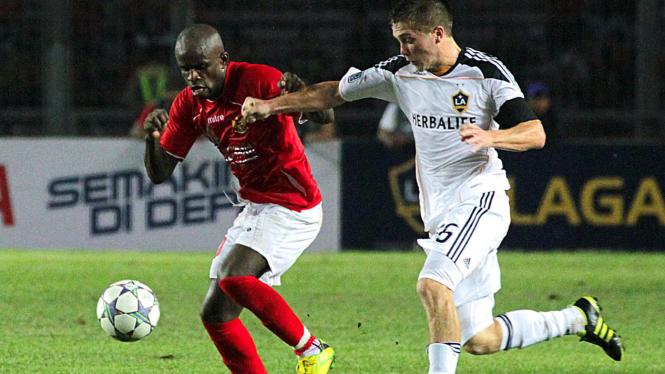 L.A Galaxy Vs Tim Nasional Selection