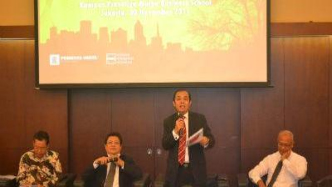 Suasana Konferensi Nasional Bisnis hijau