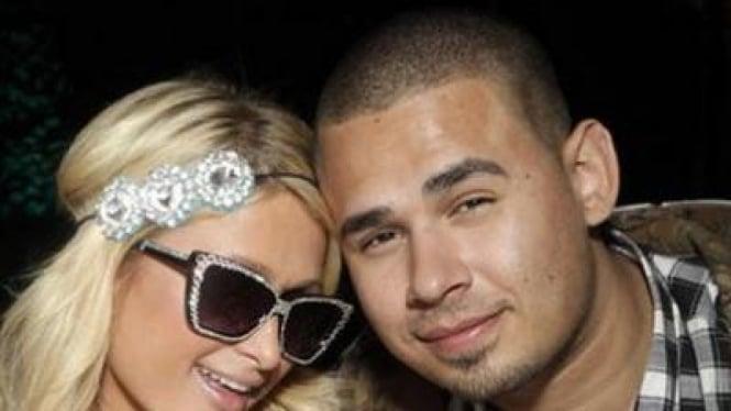 Paris Hilton dan DJ Afrojack