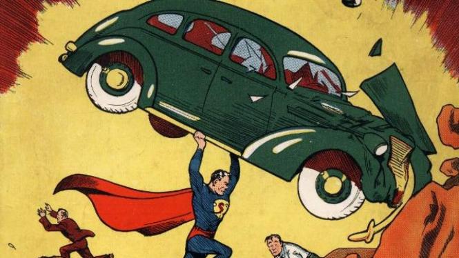 Komik Superman Edisi Pertama