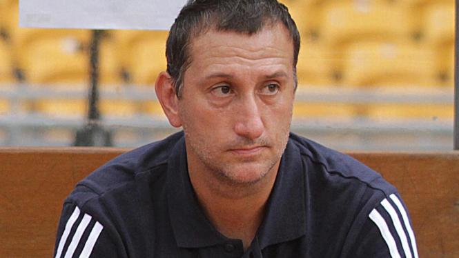 Pelatih Deltras Sidoarjo Jorg Pieter