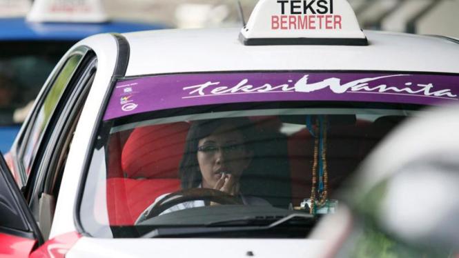 Taksi khusus wanita di Malaysia