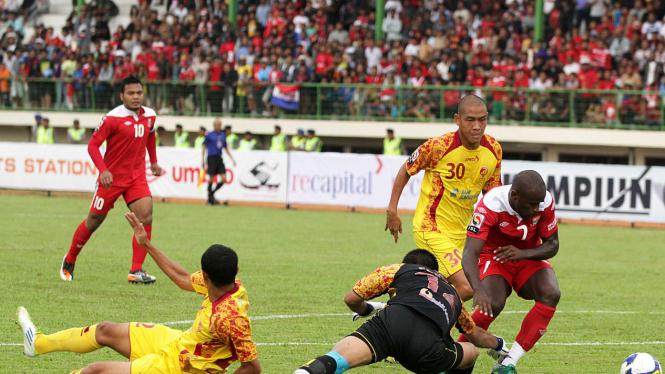 Pelita Jaya Vs Sriwijaya FC Di ISL 2011/2012