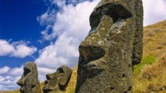 Patung di Easter Island