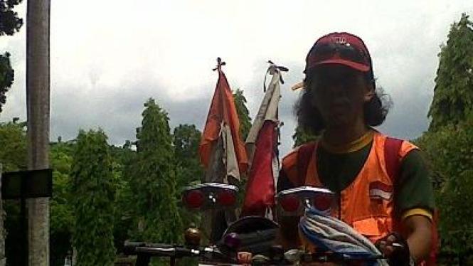 Zulkifli, Goes Sepeda keliling Indonesia