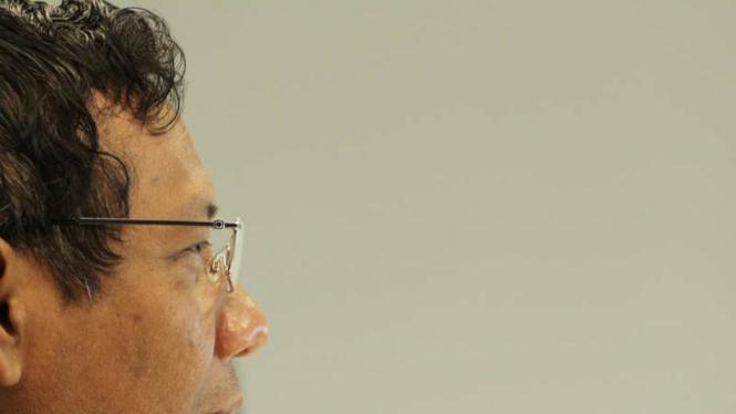 Mahfud MD Berkunjung ke Redaksi VIVAnews.Com