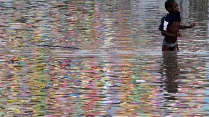 banjir di Colombia
