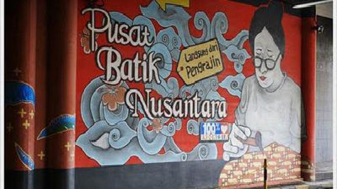 Pusat Batik Nusantara, di Thamrin City