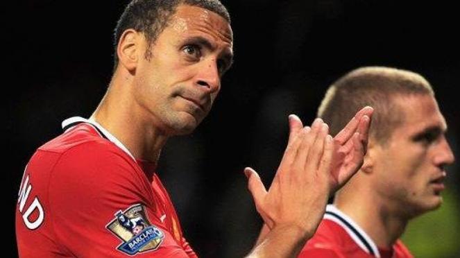 Rio Ferdinand dan Nemanja Vidic