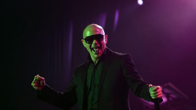 Pitbull Konser di Jakarta