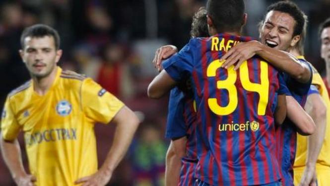 BATE vs Barcelona