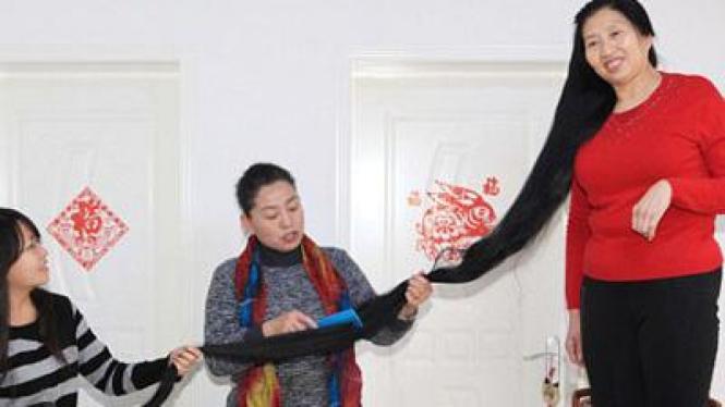 Ni Linmei tak potong rambut 14 tahun