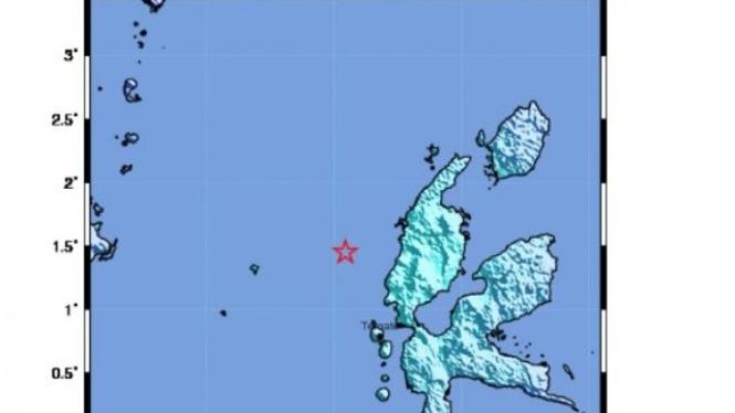 Peta Gempa Bumi BMKG