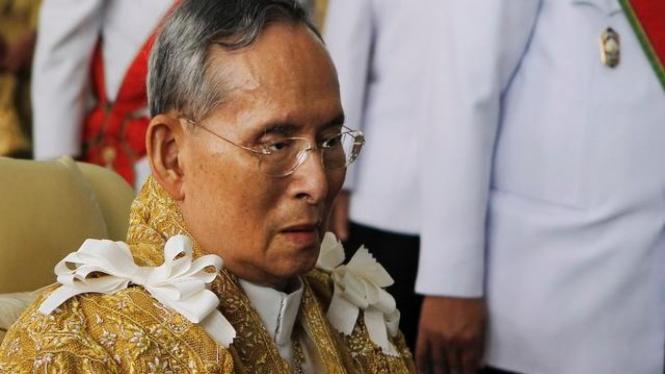 Raja Thailand Bhumibol Adulyadej