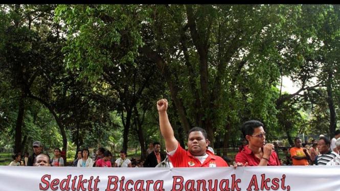 Demo Pendukung Persipura Jayapura