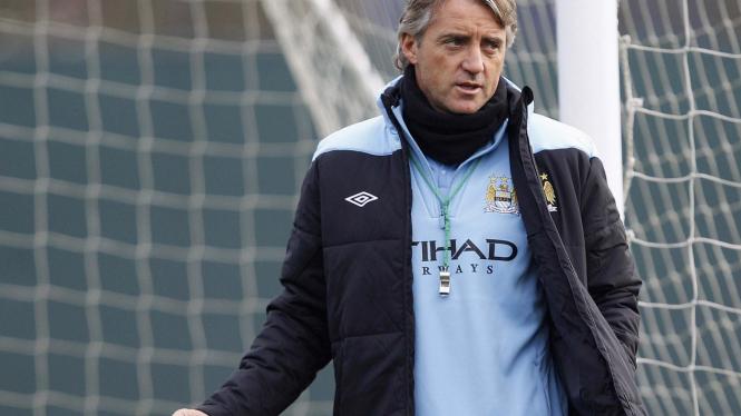 Manajer Manchester City, Roberto Mancini