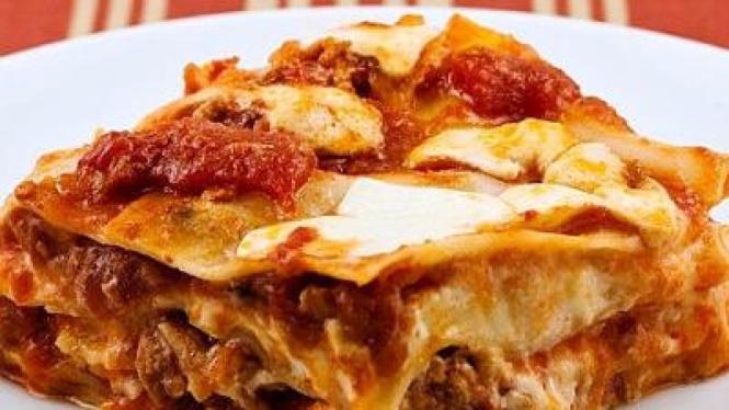 Lasagna makanan khas Italia