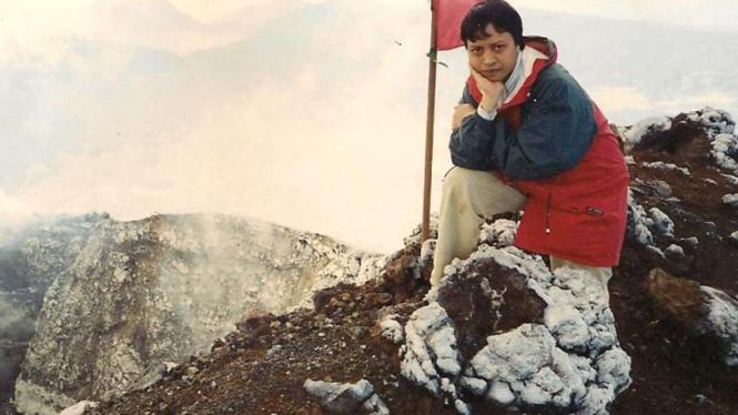 Widjajono Partowidagdo naik gunung