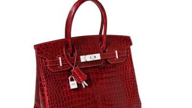 Tas tangan termahal di dunia, Hermes Birkin warna merah