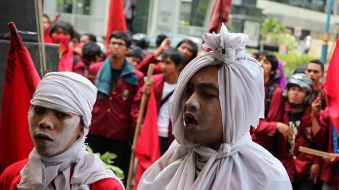 Demo Hari Anti Korupsi