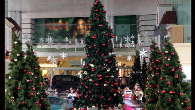 Pohon Natal di Grand Indonesia