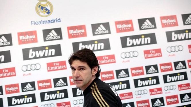 Asisten pelatih Real Madrid, Aitor Karanka