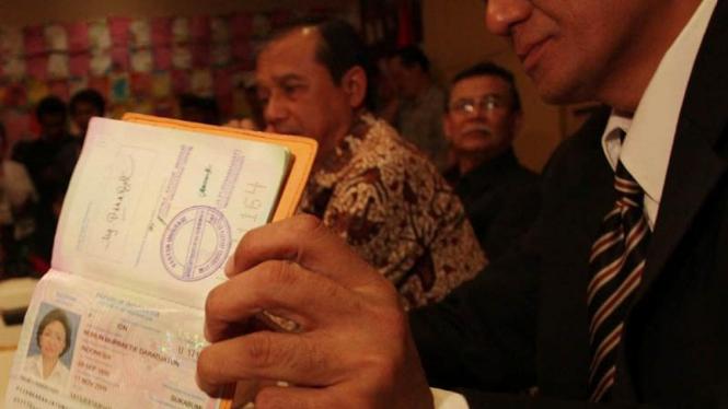 Pasport Nunun Nurbaeti