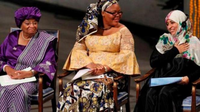 Tiga Wanita Pemenang Nobel Perdamaian 2011