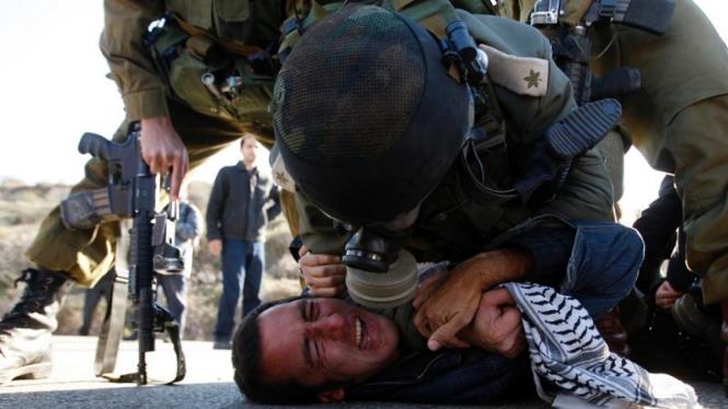 Bentrok Israel-Palestina