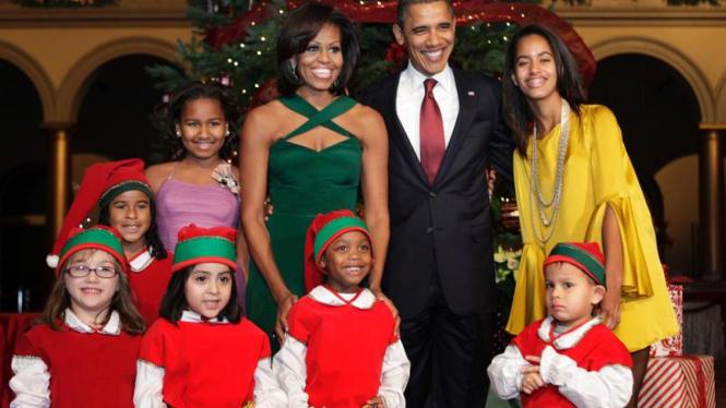 """Obama Mengikuti """"Natal di Washington"""""""