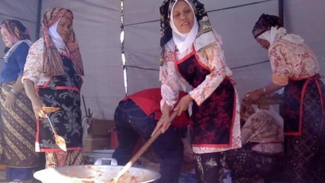 Festival rendang Padang 2011