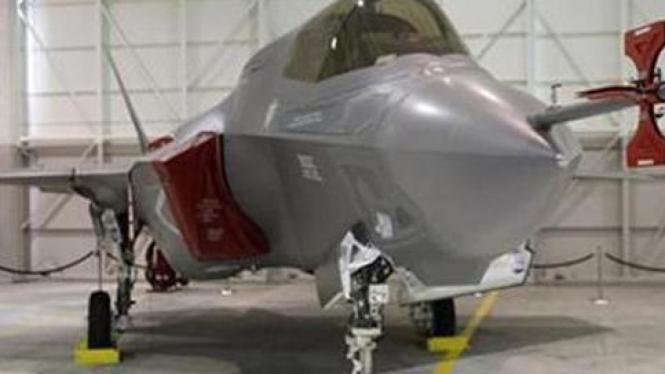 Pesawat jet F-35 buatan Lockheed Martin