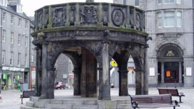 Kastil Aberdeen di Skotlandia