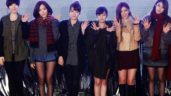 Girlband T-ara asal Korea Selatan